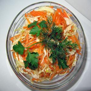 Салата зеле с моркови – 300 G