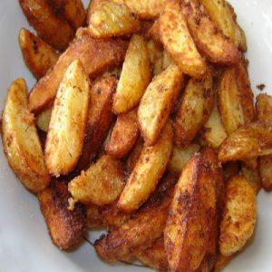 Пикантни пържени картофи