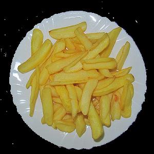 Пържени картофи 0.250кг