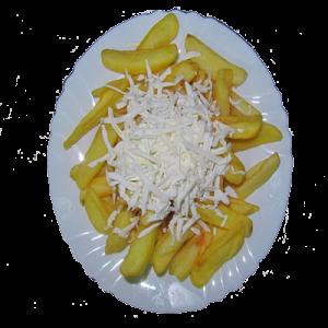 Пържени картофи със сирене 0.300кг