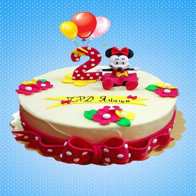 """Торта """"Minnie-Mouse"""""""