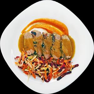 Свинско бон филе на готвача